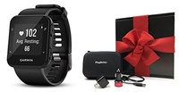 PlayBetter Garmin Forerunner 35 (Black) GPS Running Watch GIFT BOX Bundle | Includes GPS Running Wat