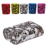 Skull Pattern Silicone Sleeve Case Protective Skin Cover For Istick Pico 75W Box DNA