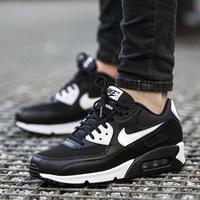 【Dr.Shoes 】616730-023 Nike W Air Max 90 Essential 女鞋 黑白 慢跑