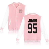 BTS 防彈少年團 粉色棒球外套  JIMIN下標處