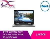 DELL 5482-826822G-W10 14.0 IN INTEL CORE I5-8265U 8GB 256GB SSD WIN 10