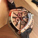 正品 爆款 藍寶堅尼 Lamborghini 男士手錶 spyder3000系列 三角盾牌手錶