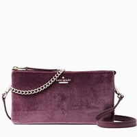 Authentic Kate Spade Dawn Place Velvet Tillie Crossbody/ Clutch (Dual Purpose)