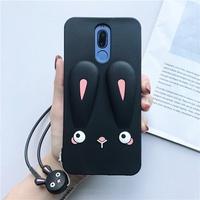 Huawei Nova 3i /Nova 3/Nova 2i Rabbit Silicon Soft Case With Strap