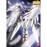 萬代 MG Wing Gundam Zero mg 飛翼天使 飛翼零式 帶支架
