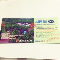 九族文化村門票含水沙連遊樂卷