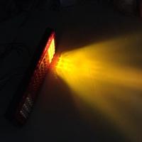 高亮度透鏡魚眼款LED後燈組尾燈-含方向燈-煞車燈-倒車燈-12V- 堅達- 貨車3.5噸現貨供應-電動車-堆高機48V