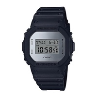 Casio G-Shock Special Color Metallic Mirror Face Black Resin Band Watch DW5600BBMA-1D DW-5600BBMA-1D