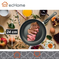 ecHome 24cm Non-stick fry pan with induction bottom Teflon classic