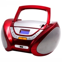 Lauson Woodsound Lauson Boombox with Cd Player Mp3 | Portable Radio CD-player Stereo with USB | Usb