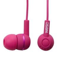 瑞典 WeSC Kazoo系列 耳道式耳機 附麥克風(洋紅)