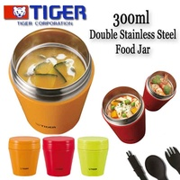 MOST POPULAR!!! Tiger Double Stainless Steel Food Jar/Soup Cup/Thermal Flask