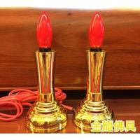 金龍佛具 神明燈 祖先燈 台灣製造 1對入 燈