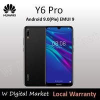 HUAWEI Y6 PRO 2019 Limitless Dewdrop Display 3020mAh EMUI 9.0 with Android™ 9.0 Pie