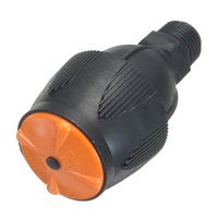 Plastic 360 Degree Rotary Watering Spraying Misting Nozzle Garden Lawn Farmland Irrigation Supplies