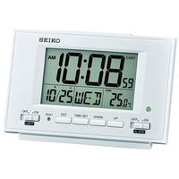 QHL075W Seiko Digital Alarm Clock