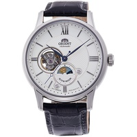 ORIENT東方錶SUN&MOON系列半鏤空日月相腕錶(RA-AS0005S)