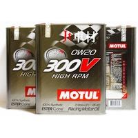 Jt車材 - 現貨 魔特 MOTUL 300V HIGH RPM 0W20 2L 機油 全合成 雙酯基