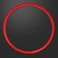 Star Mall Universal Silicone Pot Sealing Rings Instant Pot Replacement For 5&6L Electric Pressure Cookers