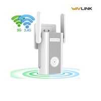WAVLINK wifi wireless extender booster 2.4+5Ghz Dual Band wifi router WiFi Range Extender(AC1200)