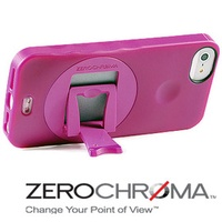 ★APP Studio★【ZeroChroma】美國設計師專利設計-小劇院可調式多角度保護殼《iPhone5/5S》專用  《VP防護系列-甜蜜莓粉紅》