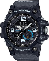 CASIO G-SHOCK MASTER OF G MUDMASTER BLUE EYED GREY DRAGON RESIN WATCH GG1000 GG-1000-1A8 GG1000-1A8