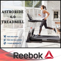 ★ REEBOK ★ FOLDABLE TREADMILL ★ HOME USE ★ USA BRAND ★ SINGAPORE EXCLUSIVE DISTRIBUTOR ★
