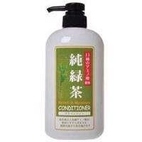 【JUN-COSMETIC】日本原裝 純綠茶X海洋深層水潤絲精600ml /純藥株式會社 天然保濕 無矽靈