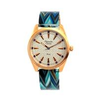 Alexandre Christie นาฬิกาข้อมือผู้หญิง สีน้ำเงิน รุ่น 2398 LHBRGSLOR