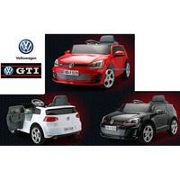 原廠授權VW福斯Golf GTI兒童電動車Volkswagen兒童搖控電動車緩啟動雙驅雙馬達2.4g搖控器兒童超跑俱樂部