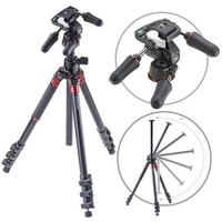 3Pod Orbit Aluminum Tripod for DSLR Photo & Video Cameras, ection Extension Legs, with 3-Way Head, Bubble Level, with Bag. 69 - intl