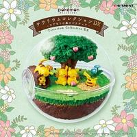 【日本正版】皮卡丘 寶貝球盆景 DX 盒玩 擺飾 精靈寶可夢 神奇寶貝 精靈球 水晶球 Re-Ment 204499