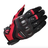 RS-TAICHI RST418 Gloves Cycling Gloves Motorcycle Gloves Red