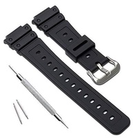 MyTime Natural Poly Urethane Replacement Watch Band Strap for Casio Mens G-Shock DW-5900 DW-6100 DW-6695 DW-6900 G-6900 GW-M5610 DW-5600E GW-6900