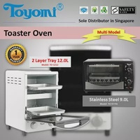 TOYOMI Toaster Oven Double Layer 12.0L TO1212 1000w [SG]
