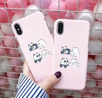 We Bare Bears Hard Phone Cases For iPhone [ Free Shipping ]