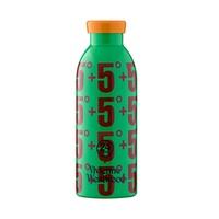 義大利 24Bottles 不鏽鋼雙層保溫瓶 500ml - Vivienne Westwood+5°