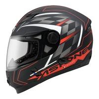 【ASTONE】ROADSTAR WW11(平黑紅)全罩式安全帽 內墨鏡片 眼鏡溝 藍芽耳機孔