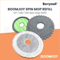 【Boomjoy Official】Boomjoy M7/ M8/ SPIN MOP REFILL Boomjoy Spin Dry Mop REFILL/ REPLACEMENT