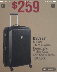 Delsey Luggage