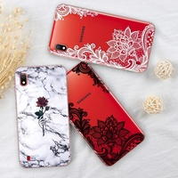 online Marble Case For Samsung Galaxy A10 Luxury Cover FOR Samsung A50 Phone Case Dream Shell Patter