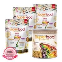 Kinohimitsu Superfood Refill 500g x3 + Superfood 500g x1 (no box)