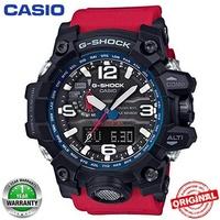 Casio G-Shock GWG-1000 MUDMASTER Red&Black Wrist Watch Men Sport Watches