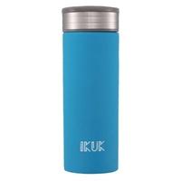 IKUK - 真空雙層好提火把陶瓷保溫杯-晴空藍 (520ML)