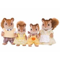 Sylvanian Families Walnut Squirrel Family #4172 (#3136)