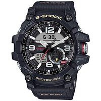 ▶$1 Shop Coupon◀  Casio G-Shock Mudmaster Twin Sensor Mens  Sports Watch (Black)