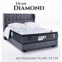 King Koil Prince Collection DIAMOND 13 Inches Pocketed Coil Spring Mattress