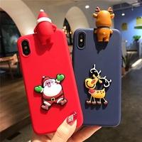 Christmas Cute Santa Claus Phone Case For Huawei Nova 3i 2i P10 Lite Fashion Diy Soft tpu Cover