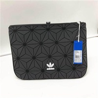 Adidas Official Clutches Adidas 3d Roll Top Discounted Bag Black