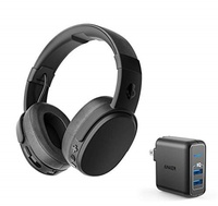 Skullcandy Skullcandy Crusher Wireless Bluetooth Over-Ear Headphone Bundle with Anker 2 Port USB Wal